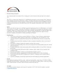 cover letter executive director business administration cover
