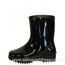 s rubber boots canada ska doo s black weatherproof rubber blazer boots outlet