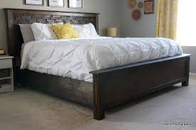 bed frame king size wood plans eoafwg with regard to ideas 16