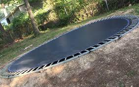 in ground trampoline bring them up