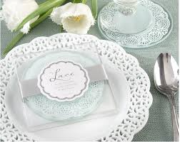 wedding coaster favors 100pcs glass coaster wedding favors and gifts glass lace coasters