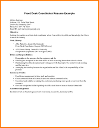 Front Office Manager Resume Sample by Resume For Front Office Coordinator