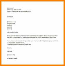 resignation email to hr employee email resignation letter free