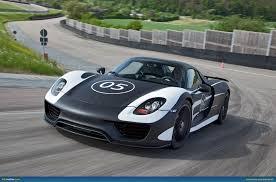Porsche 918 Back - ausmotive com porsche 918 development moves forward