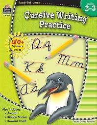 ready set learn cursive writing practice grd 2 3 amazon ca