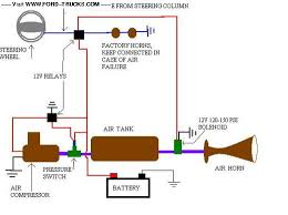 musical air horn wiring diagram diagram wiring diagrams for diy