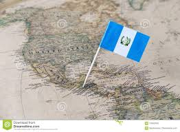 Guatemala Flag Guatemala On Map Guatemala Map Grey Stock Vector 455867458