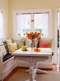 white kitchen bench with storage bench decoration