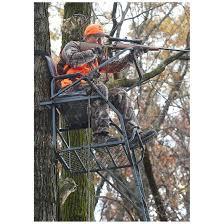 guide gear 18 jumbo ladder tree stand 177432 ladder tree