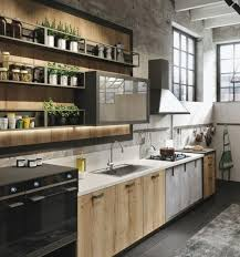 cuisine blanche moderne hotte de cuisine en métal moderne armoire blanche tabourets bar