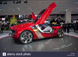 electric sports cars paris france paris car show renault concept car electric cars