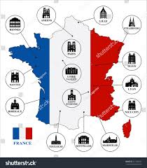 Lille France Map by Map France Famous Places France Stock Vector 327148334 Shutterstock