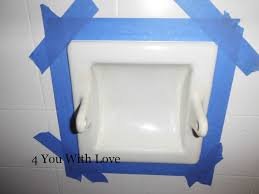 Spray Paint Bathroom Fixtures Painting Porcelain Bathroom Fixtures 4 You With