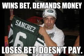 Bet Meme - wins bet demands money loses bet doesn t pay scumbag seth