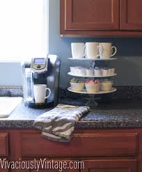 ansley designs diy 3 tier stand cupcake stand coffee station