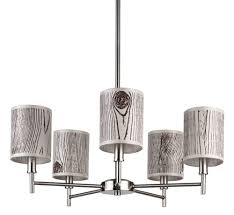 Brushed Nickel Chandeliers Buy Walker 7 Arm Drum Chandelier In Brushed Nickel