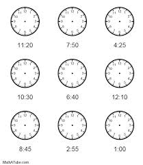 pictures on printable clock worksheet wedding ideas
