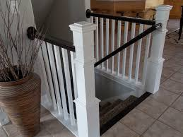 Iron Banister Rails Stairs How To Replace Stair Spindles Easily How To Replace A