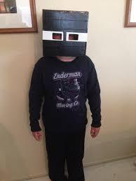 Enderman Halloween Costume Minecraft Enderman Halloween Costume Diy Daddledo