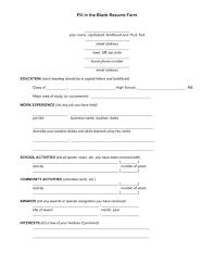 blank resume templates blank resume templates medicina bg info