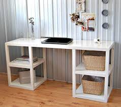 diy craft table with storage caprict com