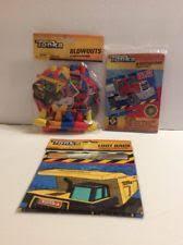 tonka truck birthday party supplies ebay
