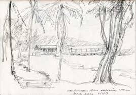 easy escapes sketching in st lucia