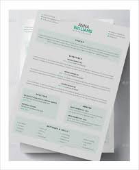 3d Resume Templates Artist Resume Example 11 Free Pdf Psd Documents Download
