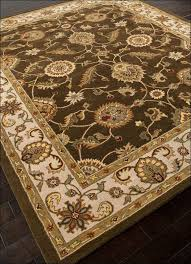 10x14 Wool Area Rugs Tufted Branch Floral Wool Area Rug 10 X 14 Free With