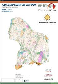 Route Map Cisco by Oringen 2017 Etapp 2 5 July 24th 2017 Orienteering Map From