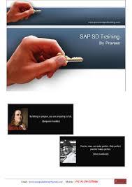 sap sd training sap sd configuration guide sap sd study material