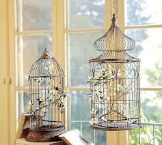 bird cage decoration decor accessories decorative hanging birdcages pottery