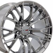 chrome corvette wheels c5 corvette z06 1997 2004 chrome c7 corvette oem style wheels