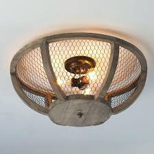Chicken Wire Chandelier Ceiling Lights Country Ceiling Light Fixtures Vintage French