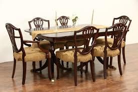 sold drexel travis court signed 1950 u0027s vintage double pedestal