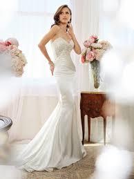 a frame wedding dress sheath wedding dress with strapless sweetheart neckline