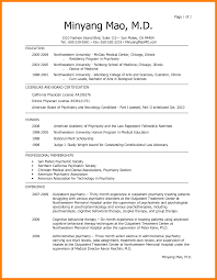 Example Of Medical Resume by 5 Medical Resume Addressing Letter