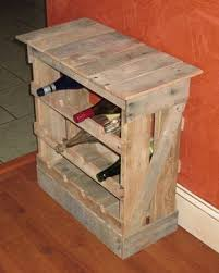 hand made pallet wood 12 bottle wine rack floor or counter top