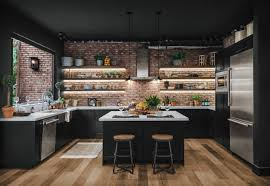 modern kitchen black cabinets 75 beautiful kitchen with black cabinets pictures ideas