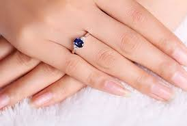 oval sapphire engagement rings trilogy half carat oval cut sapphire and engagement