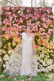 wedding backdrop of flowers wedding flower wall ideas brides