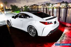 custom lexus rc diamond white lexus rc f on xo luxury custom wheels u2014 carid com