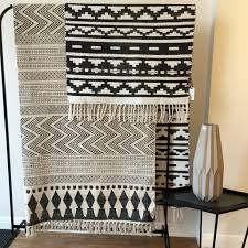 block print and inka rugs by house doctor http www the ross and brown online store offers the very best in scandinavian design rugs and mats for beautiful home interiors inspirational gift ideas