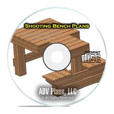 custom shooting bench plans learn how to build your own bench