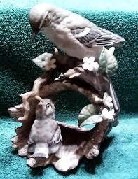 homco home interiors mockingbird with masterpiece porcelain