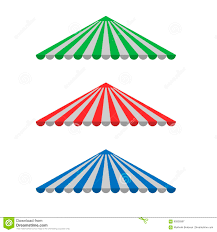 Striped Canopy by Striped Awning Canopy Stock Vector Image 90926997