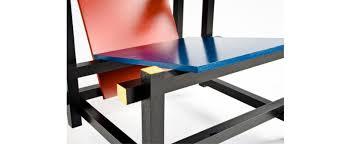 chaise rietveld la chaise et bleue par gerrit rietveld quand une pièce de