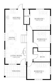 floor plan for small house unique small house plans house designs plans house design