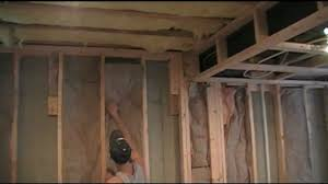 How To Soundproof A Basement Ceiling by How To Insulate Your Finished Basement Youtube