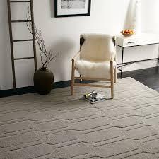 Discount Wool Rugs Honeycomb Textured Wool Rug Plaster West Elm